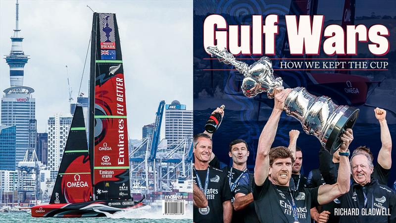 Gulf Wars - 50 page covering all three regattas in the 36th America's Cup on sale from March 25, 2021 photo copyright Getty/Sail-World/NZ taken at Royal New Zealand Yacht Squadron and featuring the AC75 class