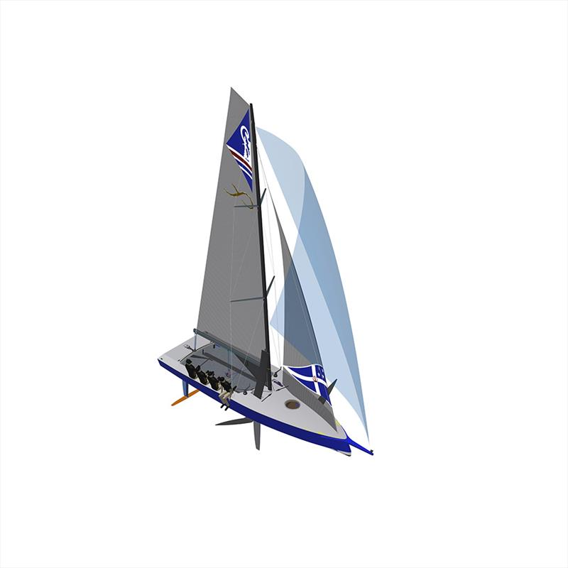 The AC9F - to be developed in conjunction with the China Sports Industry Group , is a 9metre foiling monohull will be sailed by a Mixed crew of four sailors aged 18-24yrs photo copyright America's Cup Media taken at Royal New Zealand Yacht Squadron and featuring the AC9F class