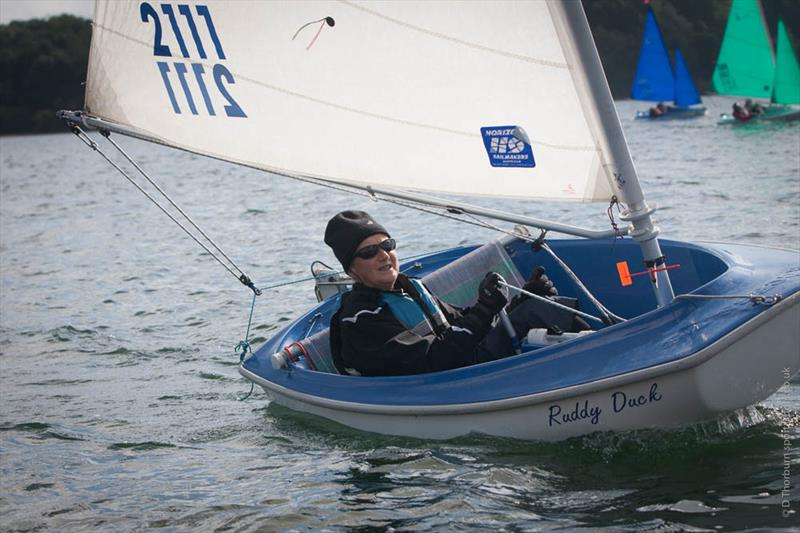 Lindsay Burns wins 2016 Hansa 2.3 UK National Championships at Carsington Sailability - photo © Mark Ludbrook