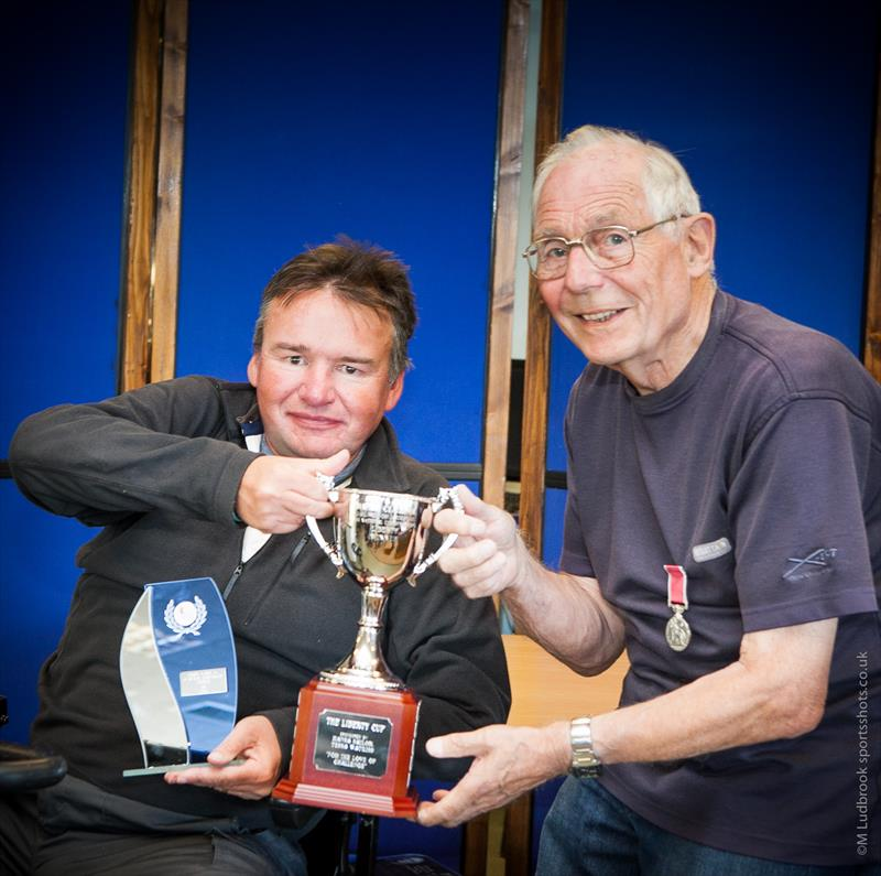 Paul Phillips wins 2016 Hansa Liberty UK National Championships at Carsington Sailability - photo © Mark Ludbrook