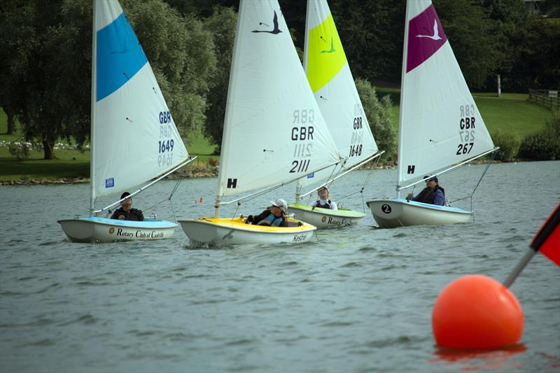 2.3 start during the 2019 Hansa UK Nationals at Rutland - photo © John Deane