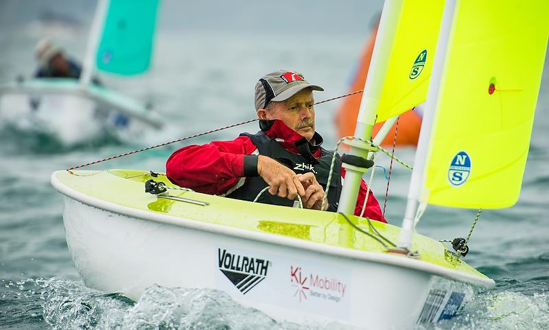 Chris Sharp (NZL) - Hansa - Day 3 - Para Sailing World Championship, Sheboygan, Wisconsin, USA.  - photo © Cate Brown