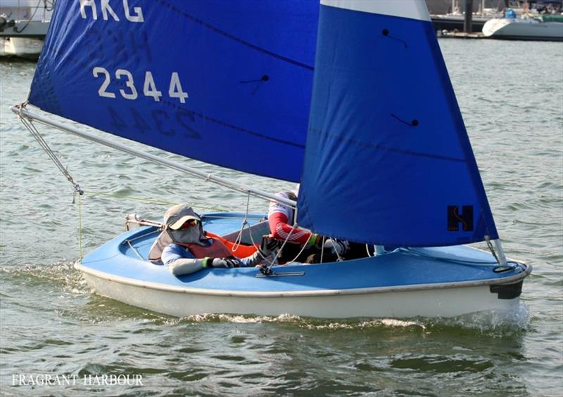 Sailability team - 24 Hour Charity Dinghy Race - photo © Fragrant Harbour