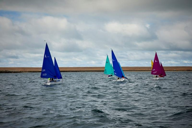 Hansa Sailing Portland Harbour photo copyright RYA Sailability taken at Weymouth & Portland Sailing Academy and featuring the Hansa class
