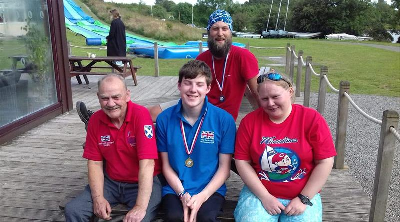 Medal winners in the Hansa Traveller Series at Galloway - photo © Gillian Campbell