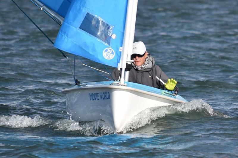 Chris Symonds won every race to win the Australian Para Sailing Championship in the Hansa 303 one-person. - photo © David Staley
