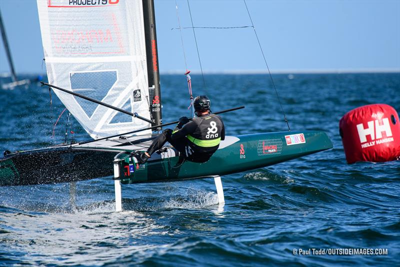 A-Class Catamaran Foiling Class Winner Bruce Mahoney - 2020 Helly Hansen NOOD Regatta St. Petersburg - photo © Paul Todd / Outside Images