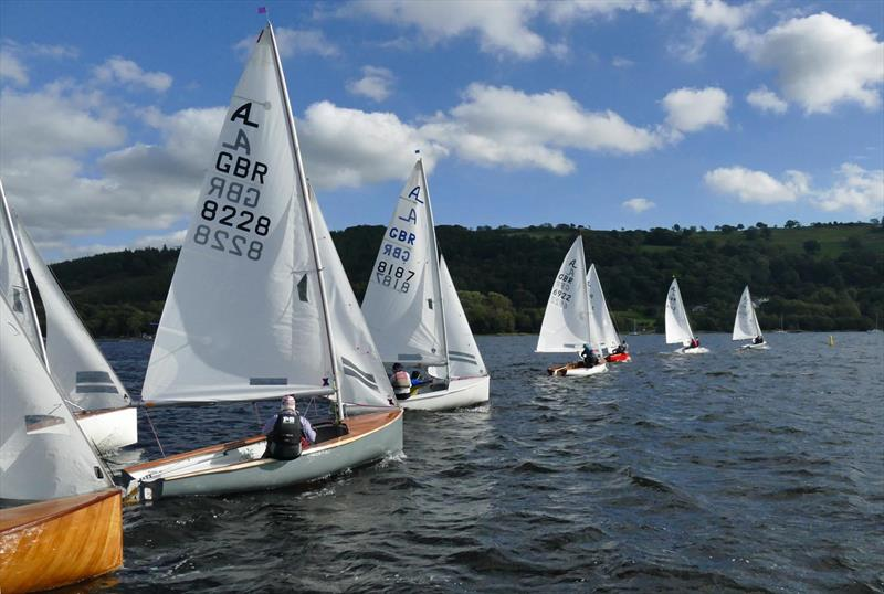 Albacore Northern Championship at Bala - photo © John Hunter