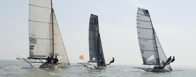 Allspars sponsor the UK 18ft Skiff Grand Prix fleet's Solent Grand Prix Series 2019 - photo © UK 18ft Skiff Grand Prix