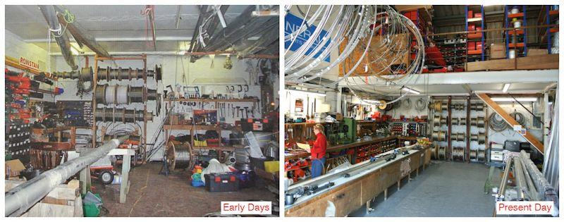 Allspars then and now - photo © Allspars