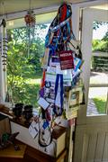 Media tags - Bob Fisher - Phoenix Cottage - Lymington - June 2019 © Richard Gladwell / Sail-World.com