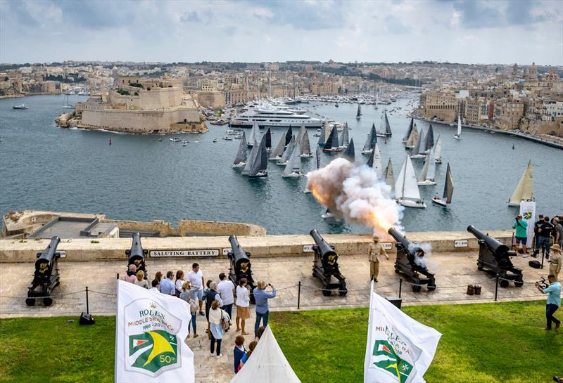 Royal Malta Yacht Club is the host for the Rolex Middle Sea Race, which celebrated its 50th anniversary in 2018 photo copyright Rolex / Kurt Arrigo  taken at Royal Malta Yacht Club and featuring the ACC class