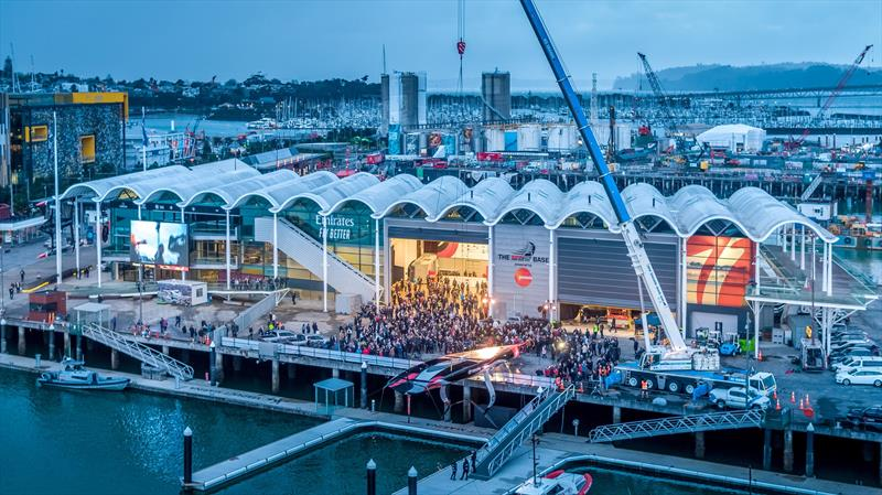 Emirates Team New Zealand launch their first AC75, Auckland - September 6, 2019 - photo © Emirates Team New Zealand