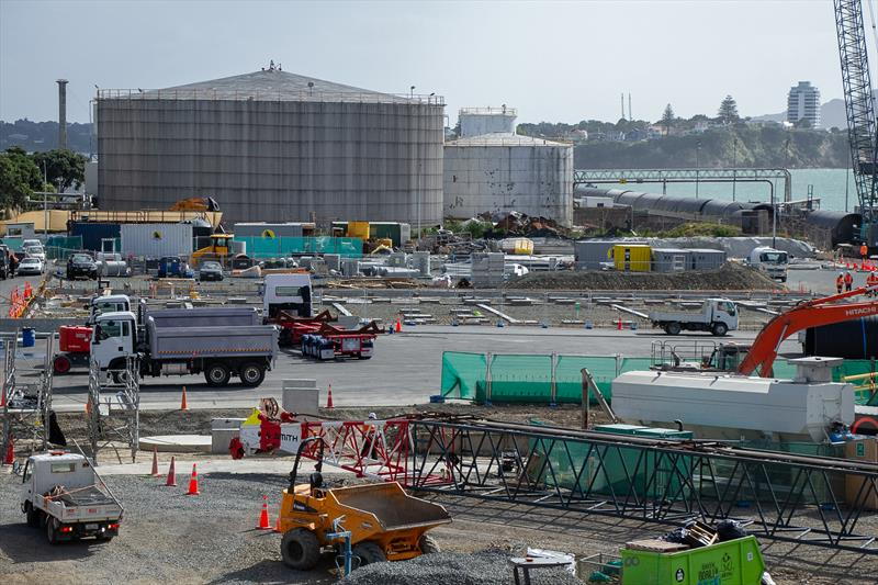 INEOS Team UK foundations laid - America's Cup Construction - January 7, 2020 - photo © Richard Gladwell / Sail-World.com