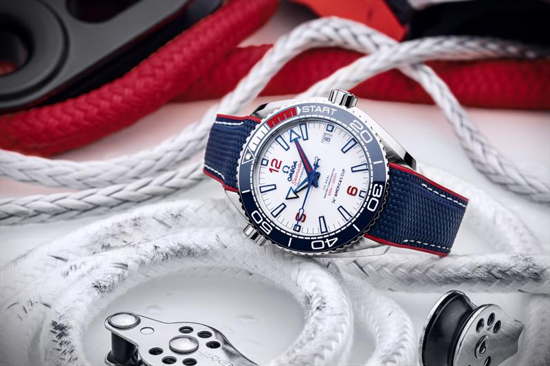 Omega will celebrate their involvement in the 36th America's Cup with a brand new Limited Edition timepiece photo copyright Omega taken at Royal New Zealand Yacht Squadron and featuring the ACC class