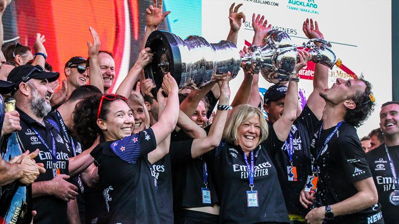 Emirates Team NZ - America's Cup - Day 7 - March 17, 2021, Cup Presentation - photo © Richard Gladwell / Sail-World.com