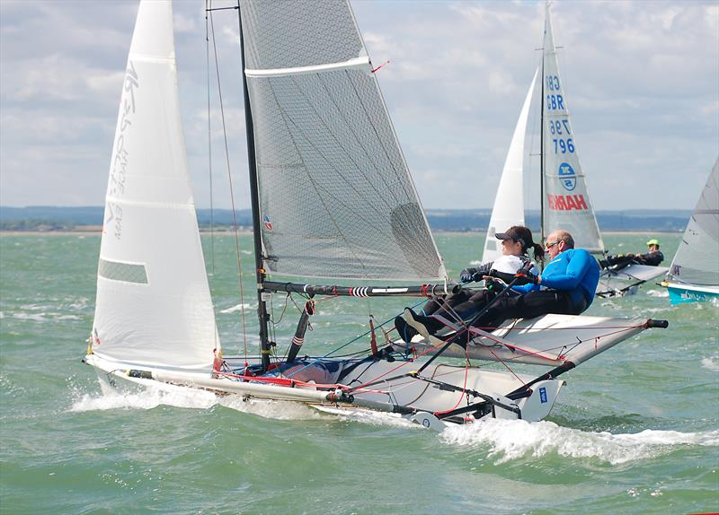Gul B14 Nationals at Whitstable photo copyright Nick Champion / www.championmarinephotography.co.uk taken at Whitstable Yacht Club and featuring the B14 class