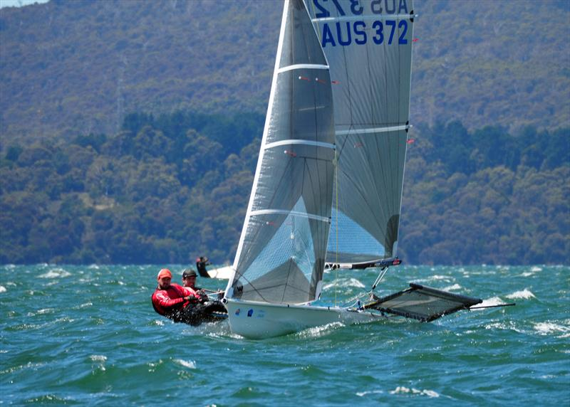 B14 Worlds at Bell Bay, Tasmania day 1 photo copyright Phil Good taken at Port Dalrymple Yacht Club and featuring the B14 class