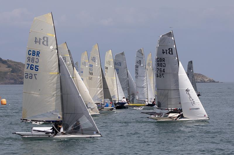 Gul B14 Nationals at Paignton day 3 - photo © Steve Cayley