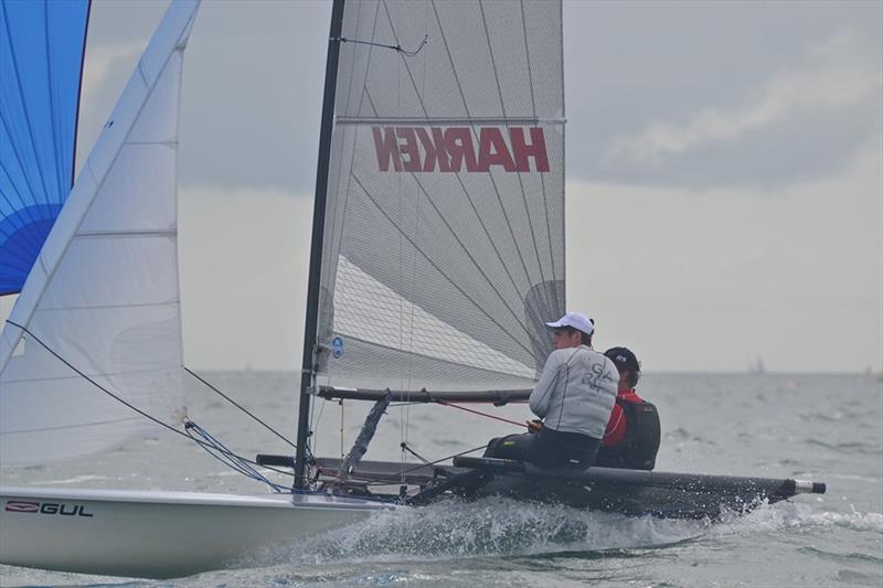 B14 Worlds Championships at Yacht Club de Carnac - Day 3