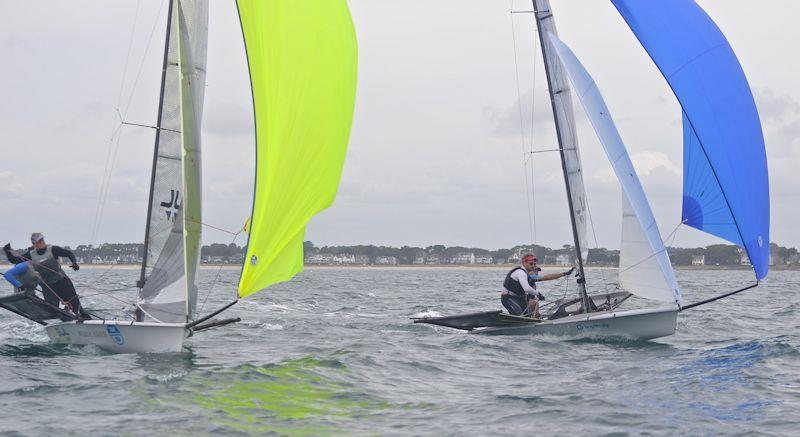 Day 2 of B14 European Championships at Carnac - photo © Alex Hayes