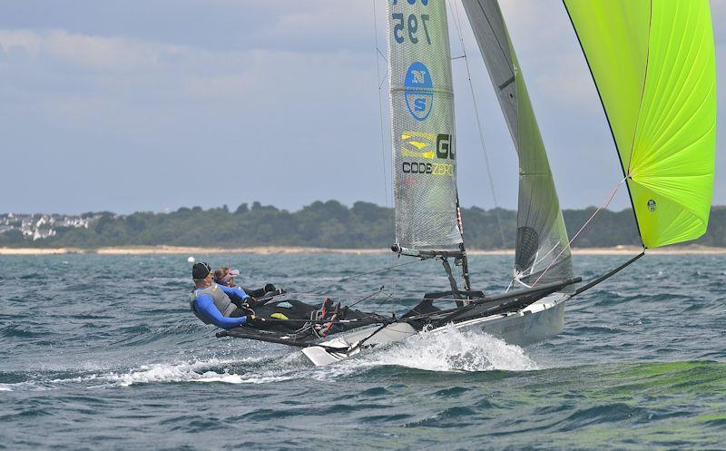 Day 3 of B14 European Championships at Carnac - photo © B14 Class