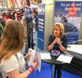 Rising Star Competition at the RYA Dinghy Show © Chris Jones