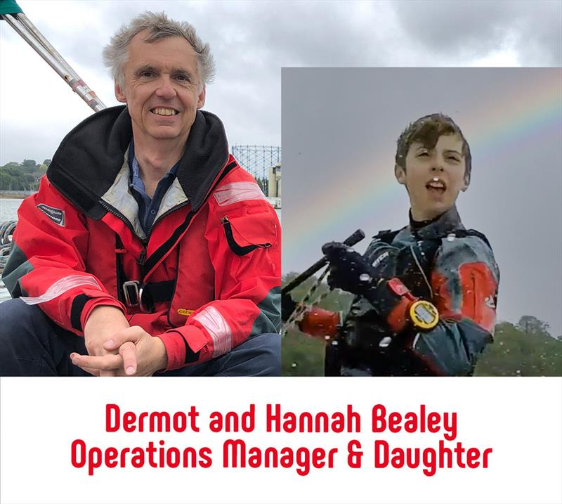 Barton Marine Dinghy Show Talks: Dermot and Hannah Bealey photo copyright Barton Marine taken at RYA Dinghy Show and featuring the  class