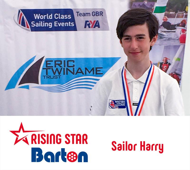 Barton Marine Dinghy Show Talks: Sailor Harry photo copyright Barton Marine taken at RYA Dinghy Show and featuring the  class
