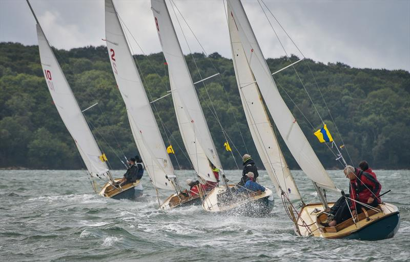 Close racing for the Bembridge One Designs on day 2 at Cowes Classic Week - photo © Tim Jeffreys Photography
