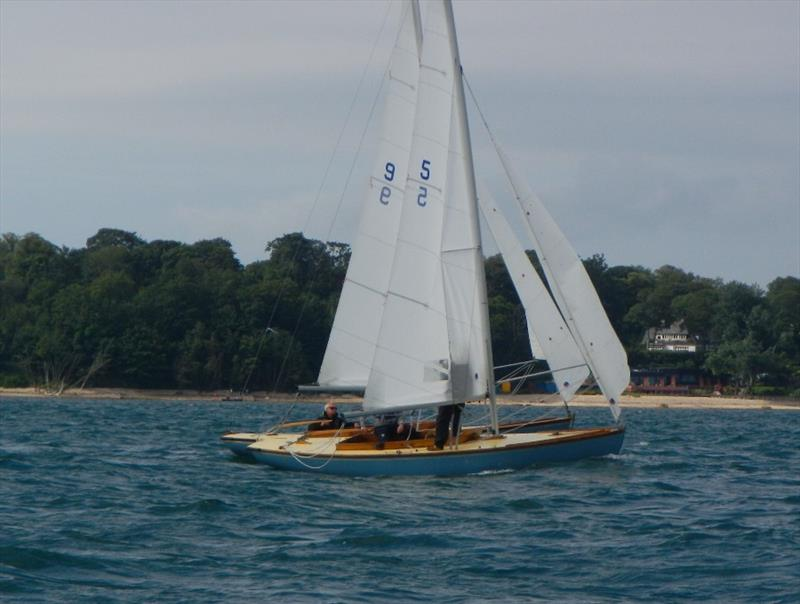 Bembridge early August keelboat racing - photo © Mike Samuelson