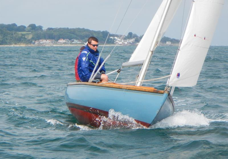 Bembridge early August keelboat racing photo copyright Mike Samuelson taken at Bembridge Sailing Club and featuring the Bembridge One Design class