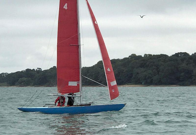 July racing for the Bembridge Redwings - photo © Jim Conybeare-Cross