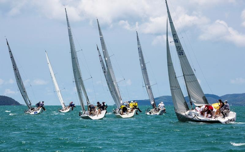 Twelve-strong Platu class delivered some close racing - Day 5, Top of the Gulf Regatta 2019 - photo © Guy Nowell / Top of the Gulf Regatta