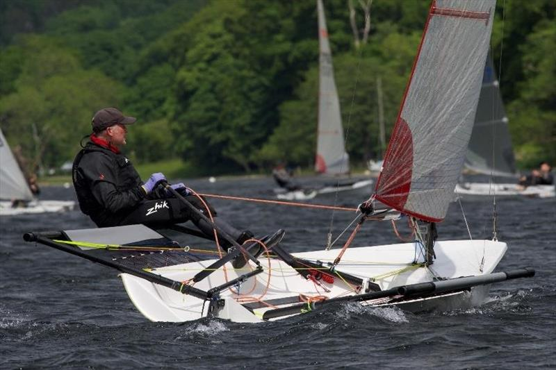 Coniston Sailing Club Open Dinghy Regatta sponsored by Lennon Racewear photo copyright Rob Swyer taken at Coniston Sailing Club and featuring the Blaze class