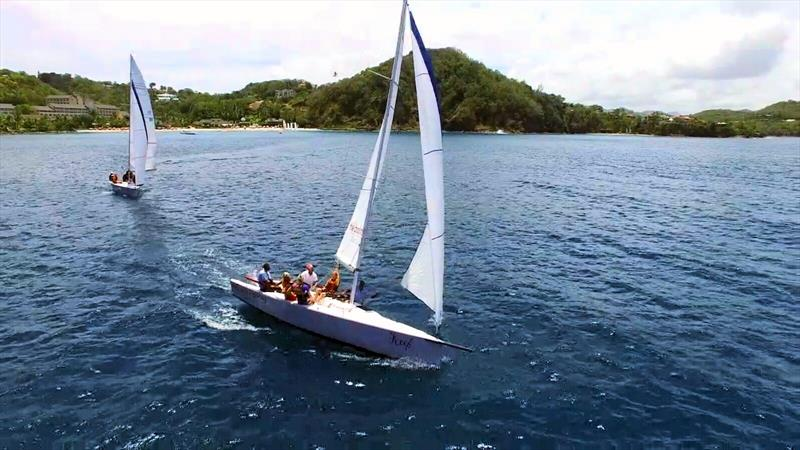 X-Treme 26 racing with Saskia Clark at BodyHoliday Saint Lucia - photo © BodyHoliday Saint Lucia
