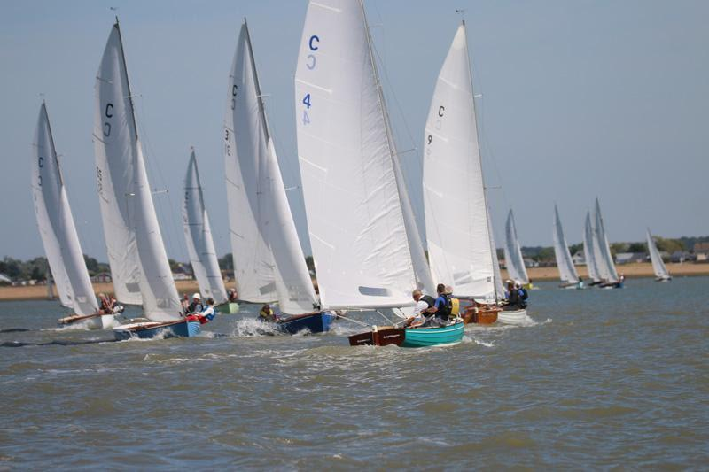 Brightlingsea One Design fleet on Learning & Skills Solutions Pyefleet Week day 4 - photo © William Stacey