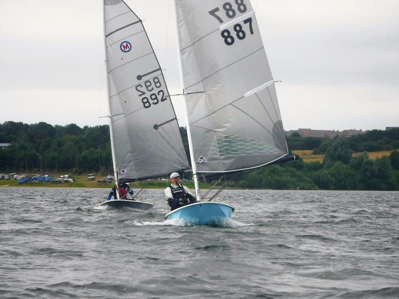 British Moth Nationals at Pitsford Reservoir - photo © British Moth Boat Association