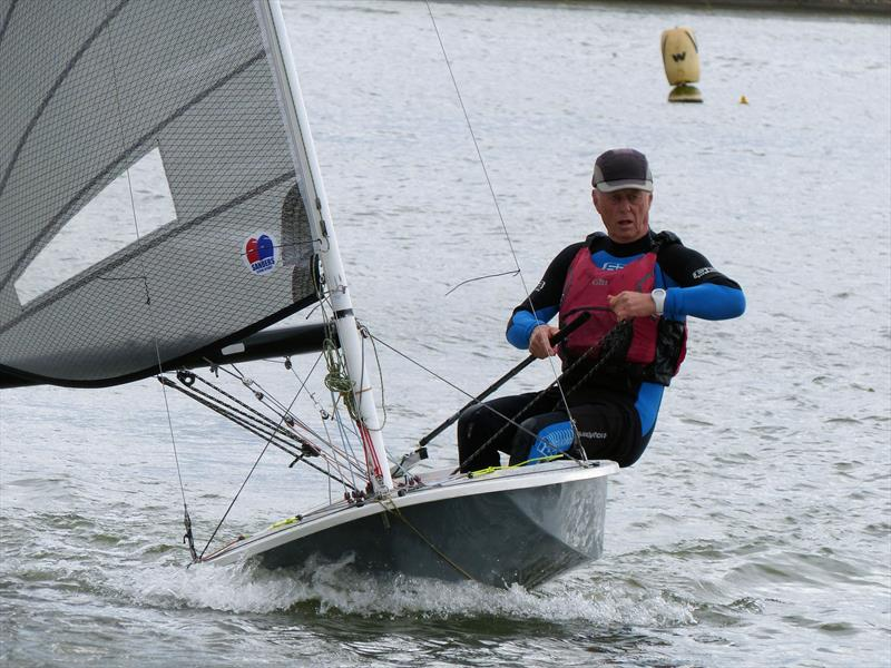 Tim Davison wins the Mid Warwickshire YC British Moth Open photo copyright Jayne Whigham taken at Leamington Spa Sailing Club and featuring the British Moth class