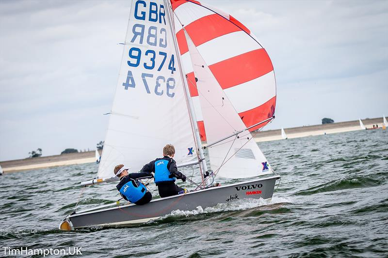 Cadets at the RYA East Zone Junior Championships - photo © Tim Hampton / www.timhampton.uk