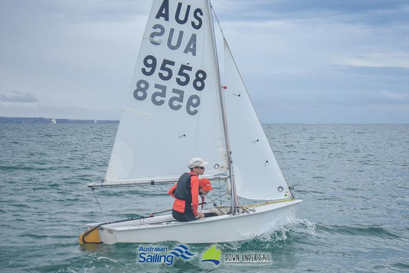 Thomas Gordon in KAOS was the winner in the International Cadet fleet - 2019 South Australian Youth Championships - photo © Harry Fisher
