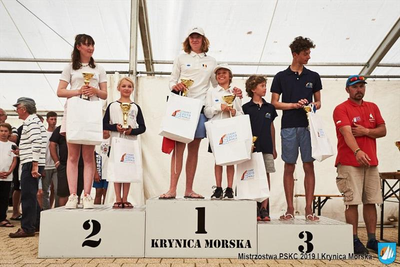 Cadet Polish National Championships - photo © Modelski