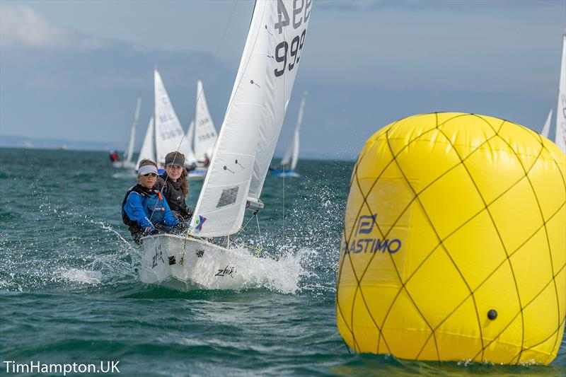 Zhik Cadet UK National Championships at Brixham - photo © Tim Hampton / www.timhampton.uk