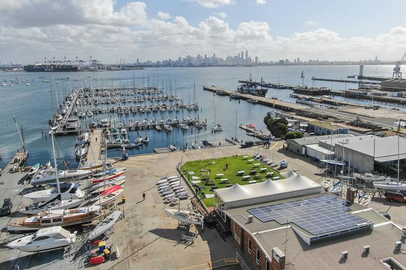 The Royal Yacht Club of Victoria will host the 2020 International Cadet World Championships - photo © Harry Fisher