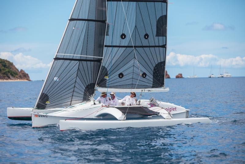 The Sportsboat Multihull division has doubled since the last regatta - BVI Spring Regatta - photo © Alastair Abrehart