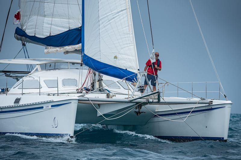 Delphine in the Caribbean Multihull Challenge - photo © Laurens Morel / www.saltycolours.com