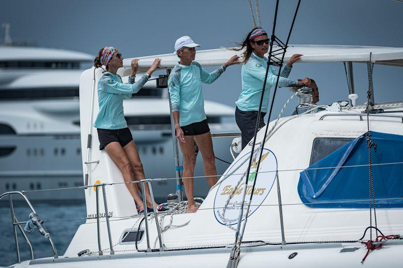 Seaduction in the Caribbean Multihull Challenge - photo © Laurens Morel / www.saltycolours.com