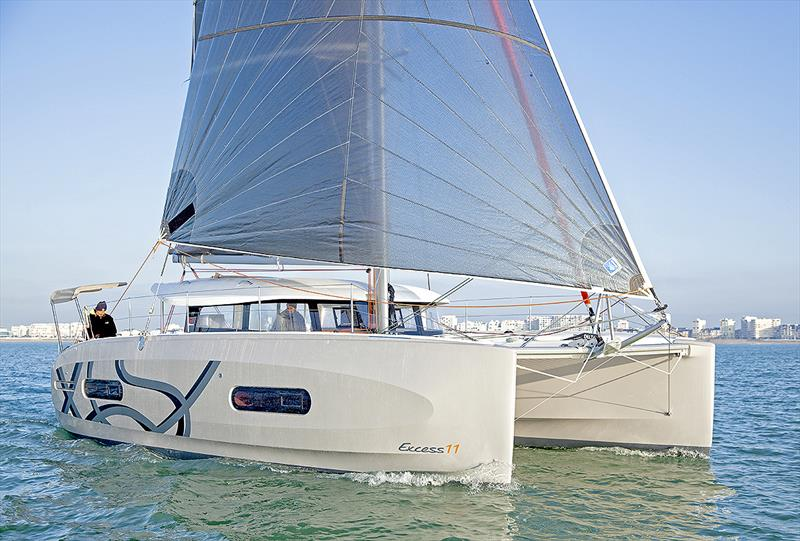 The very new Excess 11 - third model in the line up - photo © Excess Catamarans