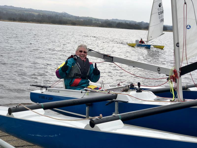 Stephen Laycock, Silver winner in the Sailability Scotland Challenger Travellers at Castle Semple - photo © Richard Toulson