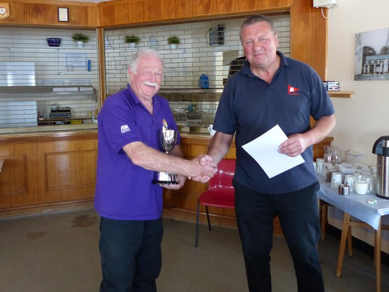 Jack Alderdice, aged 76, wins the Burghfield Challenger Regatta - photo © Richard Johnson